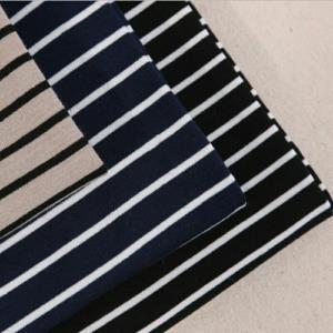 平纹针织间条