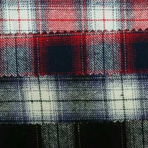 全棉色织格子