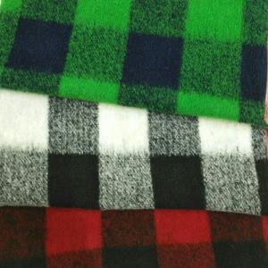 羊毛提花格子