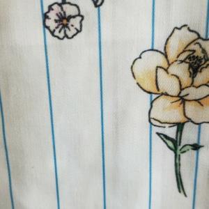 缎纹乱麻印花