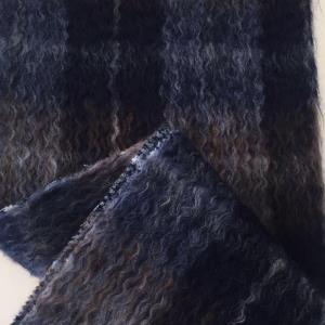 新版马海毛水波纹面料系列