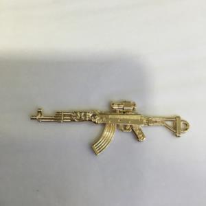 新款五金枪挂饰