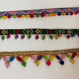 民族风织带