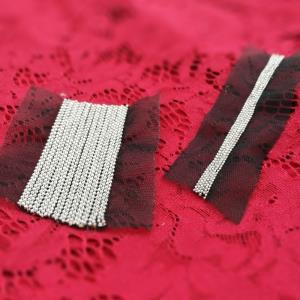 金属花边织带*