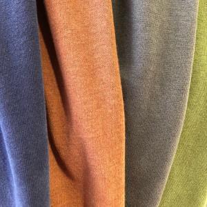 [现货]针织麻棉平纹毛绒