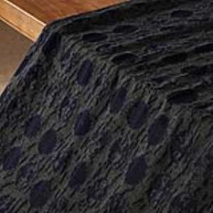 菜根 针织提花含毛混纺设计师面料*