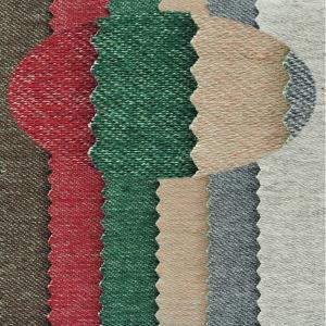 联进全棉高弹力彩色针织牛仔面料紧身裤 休闲裤外套童装双面可用布料