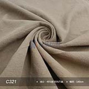 C321棉麻面料文艺清新麻料