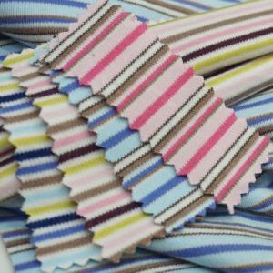 欧洲棉 色织条双面 童装爬服 家居服