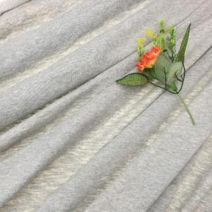 纯棉棉涤竹节大卫衣面料