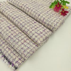长盛小香风粗纺编织呢料