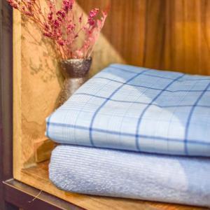 208-53 三色色织 55%亚麻、45%棉
