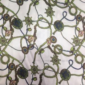 铜氨绒印花