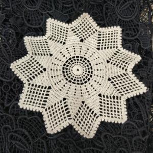 胚色棉水溶花朵11角星