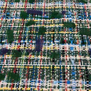 粗花呢、编织呢、小香风、蝴蝶结