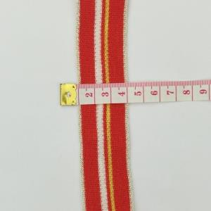 金银线织带