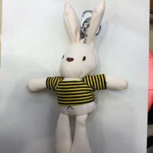 小白兔挂件