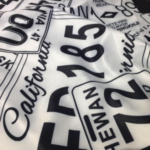 《现货》数码印花T恤棉衣面料