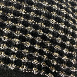 小香风、粗花呢、编织呢、玉米花、