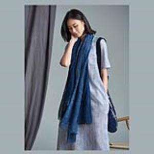 古田 · 拾物 · 蜡染系列 · 围巾 · 纯手工制作 · 非遗文化传承