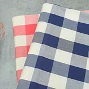 古田 · 色织全棉格子·挺括有型·长短外套半身裙·已普洗·2米可调·现货·幅宽146CM