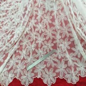 网布底绣花