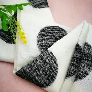 麻棉色织提花*