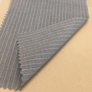 江南  色纺梭织条纹*