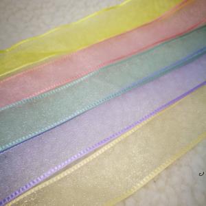 浅色系网纱织带*