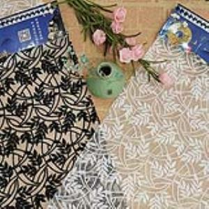 【可免费领取】02072 刺绣面料绣花面料网纱满幅提花婚纱礼服高端定制