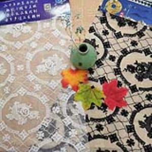 【可免费领取】02074 民族风格刺绣面料绣花面料网纱满幅提花婚纱礼服高端定制