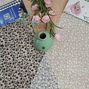 【可免费领取】02079 小清新风格童装可爱刺绣面料绣花布网布绣花锦丝皱绣花
