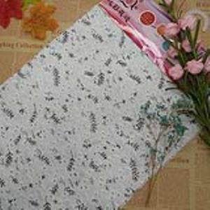 【可免费领取】01076 棉布绣花面料数码印花镂空刺绣加印花