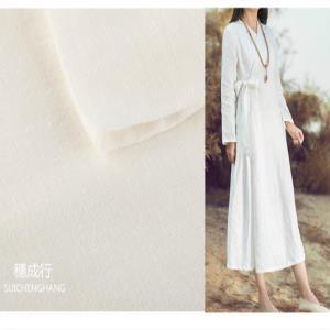 穗成行-大麻面料 染色衬衫休闲服连衣裙面料