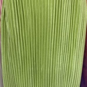 三十而已同款压折   果绿色压折布