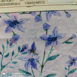 棉麻数码喷绘印花
