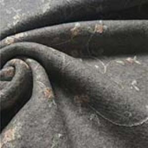针织绣花工艺面料
