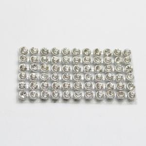 4mm银白网布