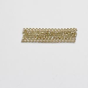 珠子夹金链条