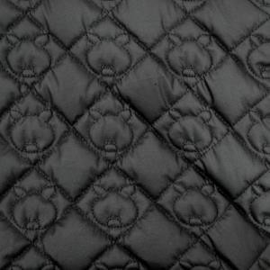皮革针绣裥棉面料