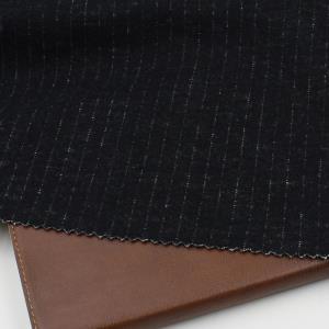 条子针织羊毛布