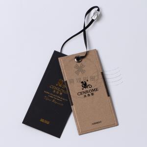 服装吊牌订做时尚高档吊牌纸卡标签合格证衣服吊牌定做流行服饰挂牌商标tag fashion