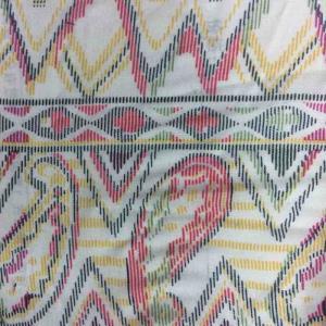 人棉梭织印花布