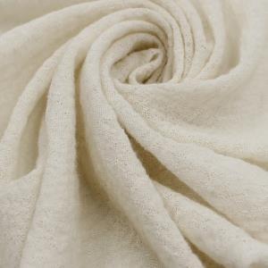 提花羊毛布