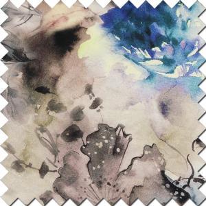 生态麻印花
