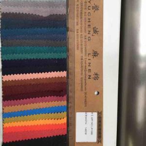 亚麻棉砂洗皱布