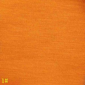 15%羊毛桔黄色高支超薄平纹拉架薄呢料