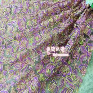 时尚绣花厂家直销刺绣蕾丝网纱绣花2016秋季女装高档礼服裙子面料