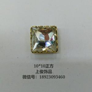 10*10正方花爪包玻璃